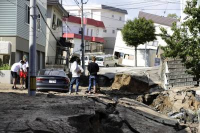 6.7 magnitude quake rocks Japan's Hokkaido island, one killed, 32 missing