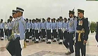 Change of Guard ceremonies held at Mazar-e-Quaid, Mazar-e-Iqbal