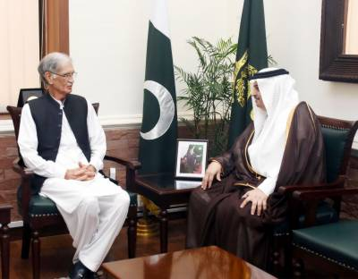 Pakistan Saudi Arabia vow to enhance defence ties