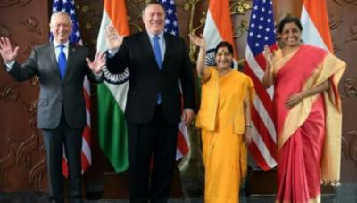 US and India hold strategic 2+2 dialogues for strengthening the bilateral partnership