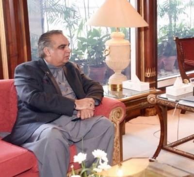 Commander Karachi Pak Navy calls on Sindh Governor