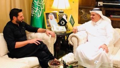 Former Skipper Shahid Afridi to work with Saudi Arabia