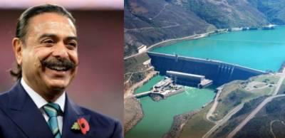 Is Pakistani-American Shahid Khan donating $1 billion for Diamer Bhasha Dam fund?