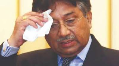 Former President General (R) Pervaiz Musharraf in hot waters