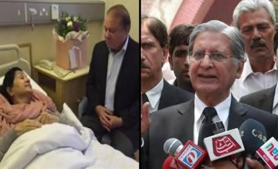 Aitzaz Ahsan apologises for hurting Sharif family sentiments