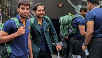 Pakistan National Cricket team arrives in Dubai for Asia Cup 2018