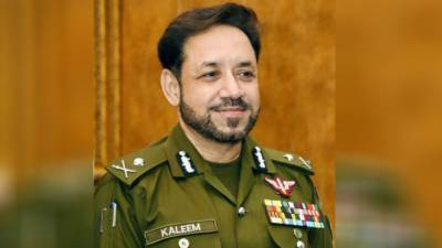 Dr Kalim Imam takes charge as IG Sindh Police