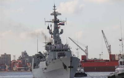 Pakistan and Egyptian Naval forces hold joint naval drills in Mediterranean Sea