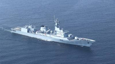 Pakistan Navy warship arrives at Alexandria Port Egypt for training visit
