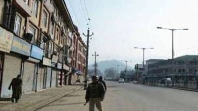 Shutdown in Occupied Kashmir over martyrdom of Hurriyet leader by Indian forces