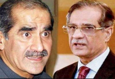 CJP - Saad Rafique exchange harsh words in court hearing