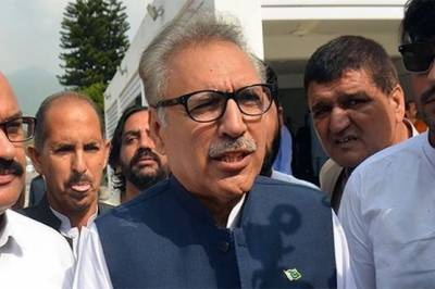 President Arif Alvi responds over heavy protocol cum security during Karachi tour