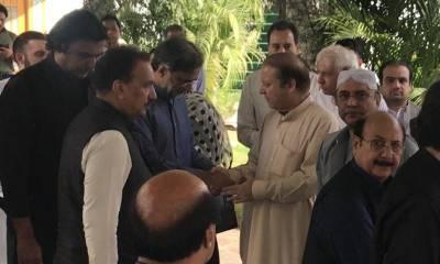 What did Asif Zardari tell Nawaz Sharif in Jati Umrah meeting?