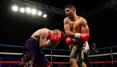 British Pakistani boxer Mohammad Ali makes history
