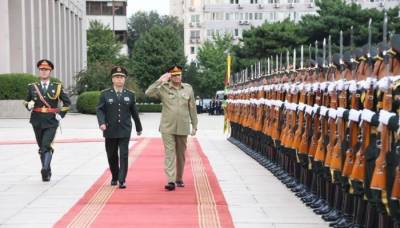 Chinese Army Chief had a keen desire from COAS General Bajwa