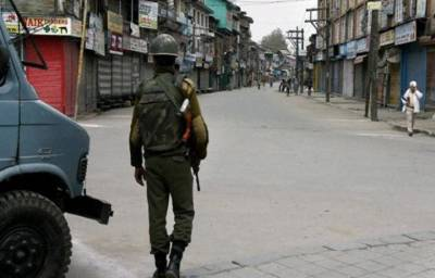 Complete shutdown across occupied Kashmir against Indian Army
