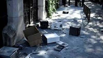 Iranian embassy attacked by anarchist group