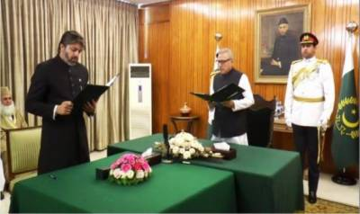 MNA Ali Muhammad Khan takes oath as Minister of State