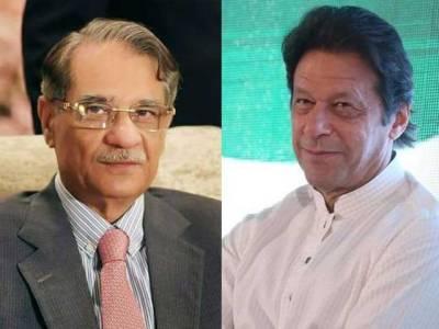 PM Imran Khan prises CJP Justice Saqib Nisar