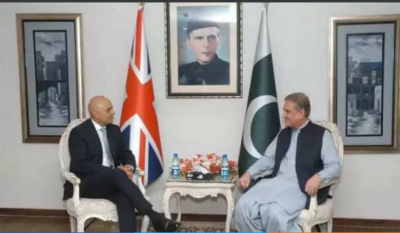 UK Home Secretary holds important meeting with Pakistan Foreign Minister