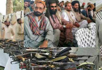 265 Ferraris surrender arms to CM Balochistan