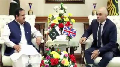British Home Secretary, CM Punjab discuss matters of mutual interest