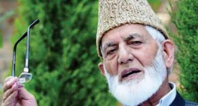 British role in Indian occupation of Kashmir deplored: Gilani