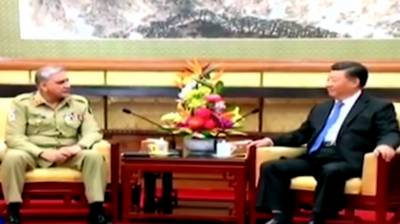 Chinese President Xi Jinping assures Pakistan Army Chief