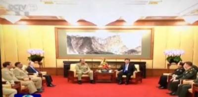 COAS General Bajwa holds important meeting with Chinese President Xi Jinping