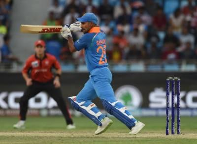 India avoid Hong Kong upset after Dhawan's hundred