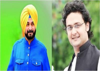 India's Navjot Singh Sidhu telephones PTI Senator Faisal Javaid Khan
