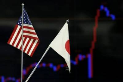 Japan trade surplus with US shrinks for second month