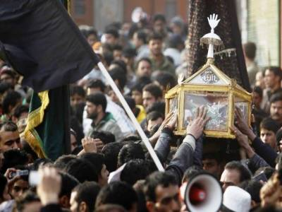 Muharram processions carried out in different parts of IOK
