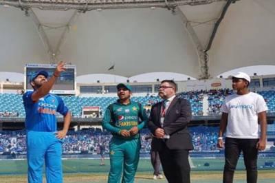 Pakistan Vs India match live score update: Green shirts face early setbacks