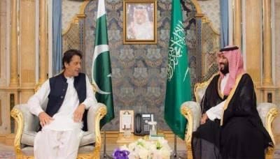 PM Imran Khan holds meeting with Saudi crown prince MBS