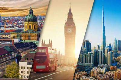 Top five World destinations for working abroad by job seekers