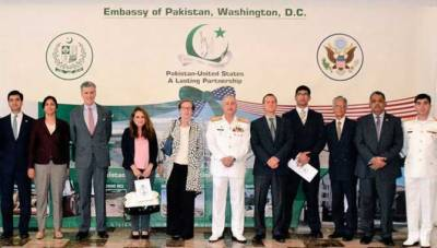 Pakistan Navy Chief attends 23rd International Sea Power symposium in US, meets high level dignitaries