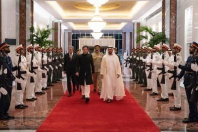 PM Imran Khan held meeting with Crown Prince of UAE