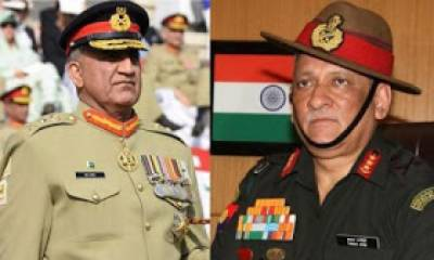 Indian Army Chief again ups the ante against Pakistan