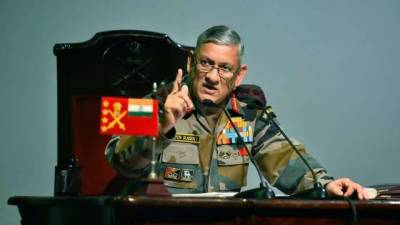 Indian Army Chief makes yet another claim about Pakistan