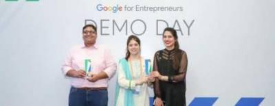 Pakistani girl earns International award at Google demo day Asia