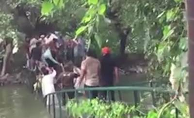 Punjab governor house bridge collapsed, multiple injures reported