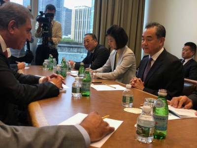 Pakistan, Chinese FMs discuss prevailing strategic situation in South Asia