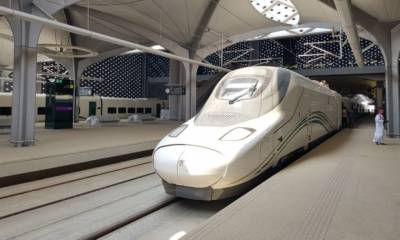 Saudi Arabia launches high-speed railway line