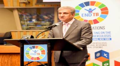 At UN, FM reaffirms Pakistan's commitment to root out TB by 2030