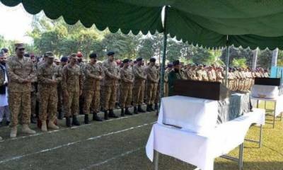 Four terrorists killed, two soldiers embrace martyrdom in Kalat