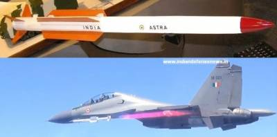 India successfully testfires air-to-air Astra missile