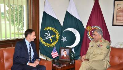 New US Ambassador in Pakistan holds maiden meeting with COAS General Bajwa