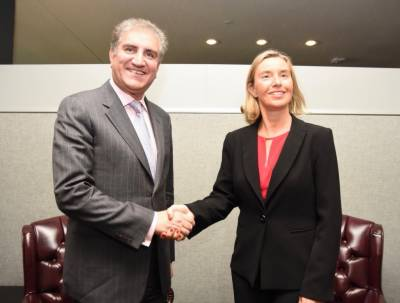 Pakistan Foreign Minister hold important meeting with his EU counterpart