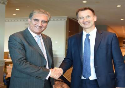 Pakistan foreign minister hold talks with British counterpart in New York